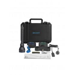 Kit de caza linterna LED recargable Javelot Turbo 1.300 lum. Olight
